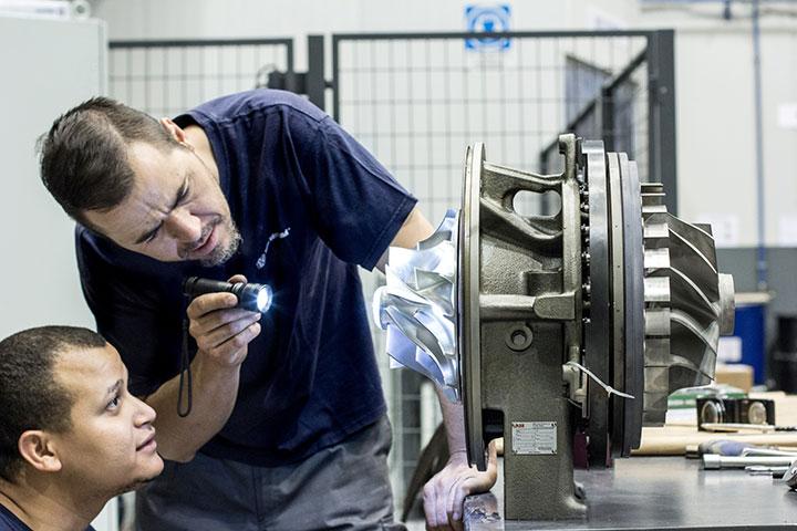 mantenimiento de turbocompresores
